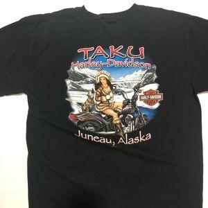 Taku Alaska Harley Davidson Shirt